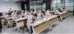 正裕工业2020年涂装工职业技能认定考试圆满进行